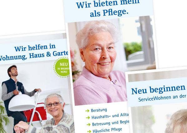 paritätische pflegedienste_corporate design
